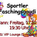 Sportlerfasching 2017